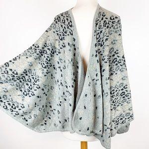 CABI LEOPARD PRINT Cape/ shawl/ wrap.